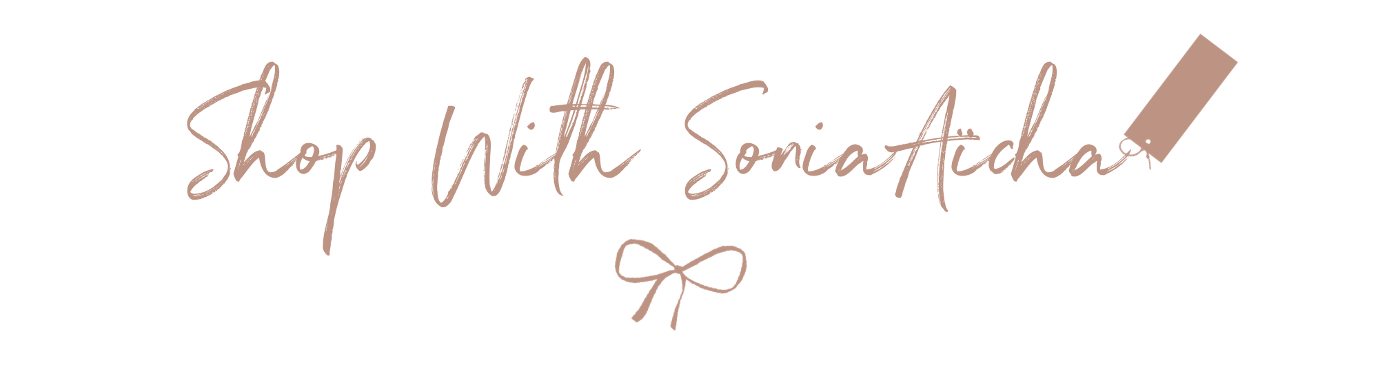 Shop With Sonia Aicha